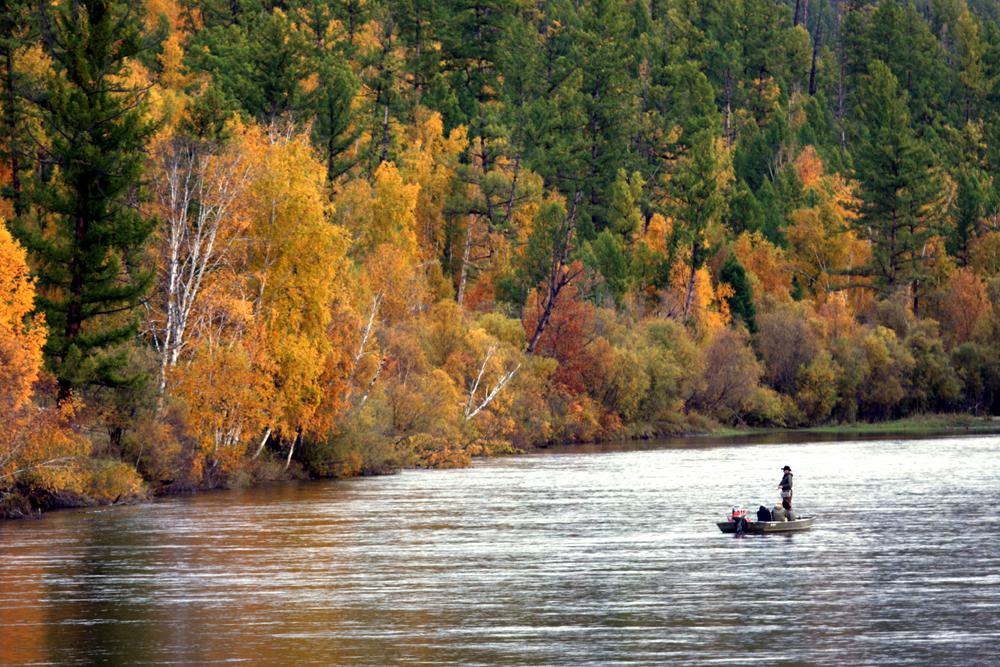Uur River Mongolia